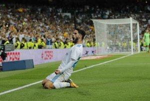 O oba góly Madridu sa postaral Isco.