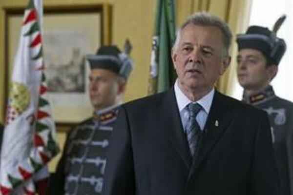 Bývalý podpredseda Fideszu Pál Schmitt sa vlani stal prezidentom na päť rokov.