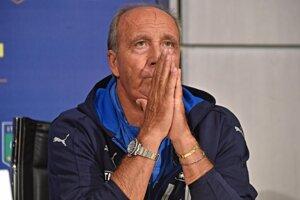 Tréner Talianska Gian Piero Ventura.