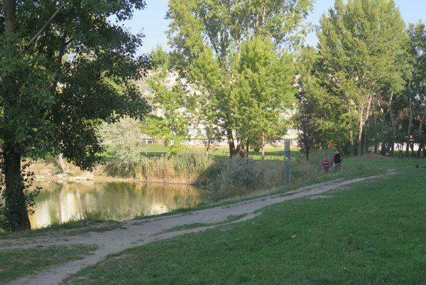 Jazero Rohlík v bratislavskom Ružinove.