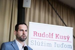Starosta bratislavského Nového Mesta a kandidát na župana Rudolf Kusý.