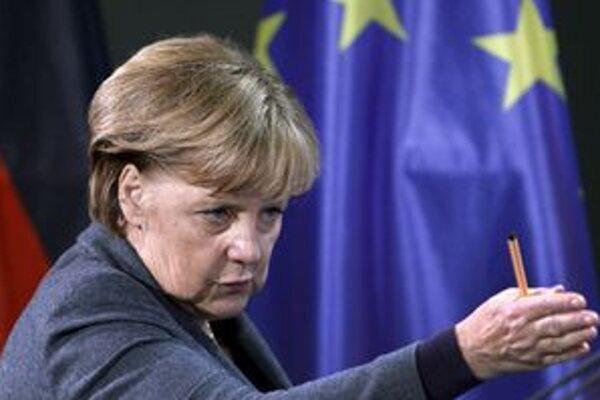 Nemcom sa tiež pozdáva, ako ich kancelárka reprezentuje vo svete.