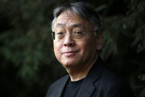 Kazuo Ishiguro, víťaz Nobelovej ceny za literatúru.