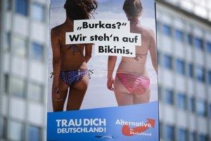 Aliancia za Nemecko lákala voličov aj na odmietanie buriek.