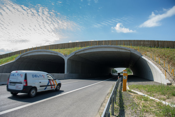Zelený most pri Moravskom Svätom Jáne stál takmer šesť miliónov eur.