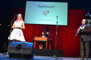 Šarišanci sa predstavili na koncerte s uvedením CD.