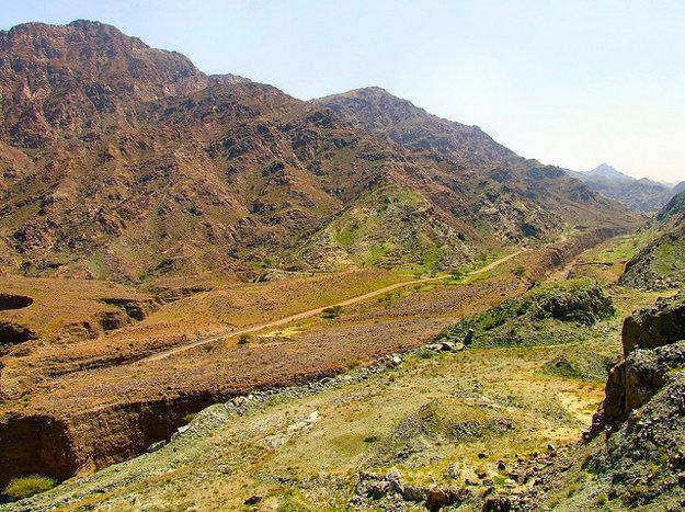Fujairah ponúka turistom aj hory.
