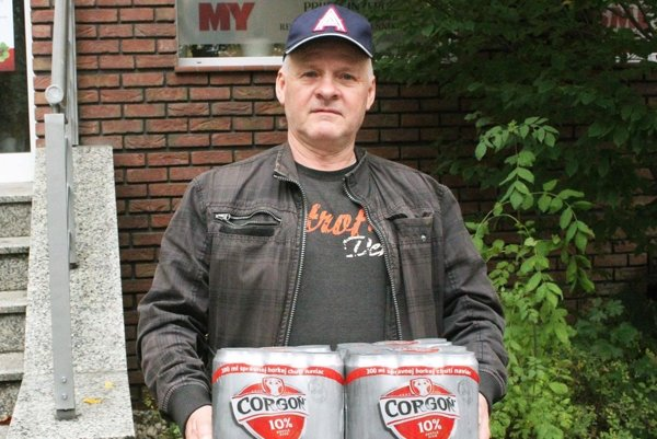 Pre kartón piva Corgoň si prišiel víťaz 8. kola Anton Cibiry zo Svätoplukova.