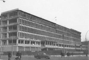 Hlavná budova Technickej univerzity.