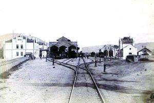 Železničná stanica.