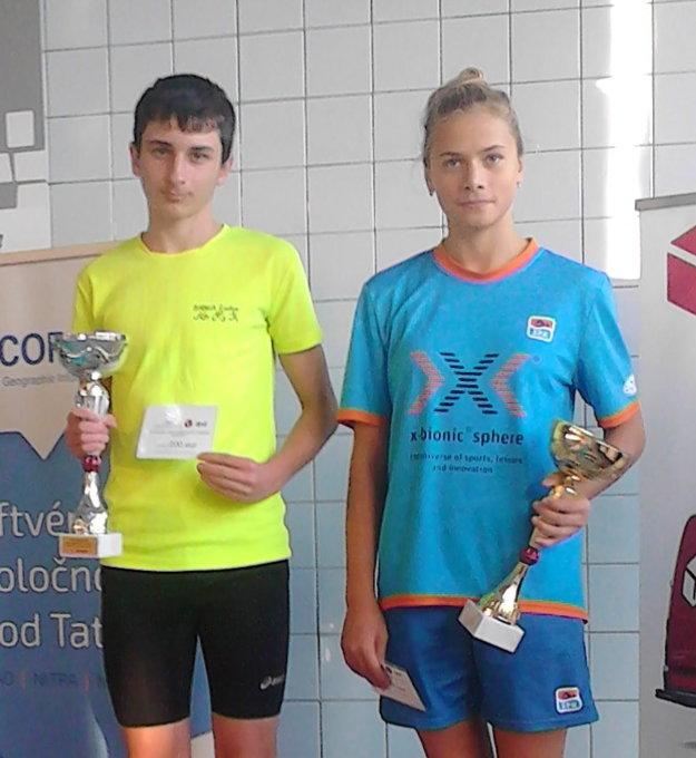 Aleš Balamucký a Michaela Dinková z ŠPK Bratislava.