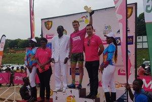 Slovenský reprezentant Juraj Bellan sa stal víťazom záverečnej 4. etapy na cyklistických pretekoch Grand Prix Chantal Biya v Kamerune.