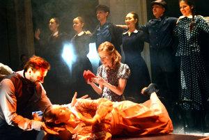 Denník Anny Frankovej. Medzi divákmi je predstavenie mimoriadne obľúbené.