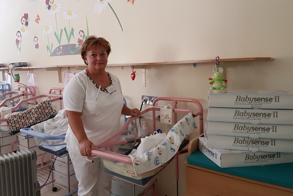 Rozália Mišová, primárka novorodeneckého oddelenia v Trnave.