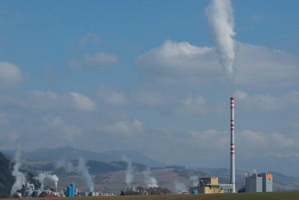 Závod spoločnosti Mondi SCP v Ružomberku.