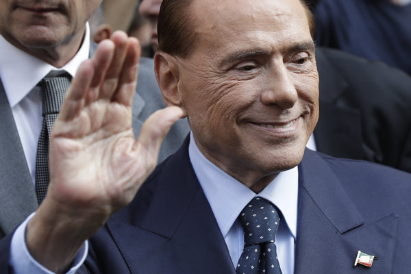 Bývalý taliansky premiér Silvio Berlusconi.