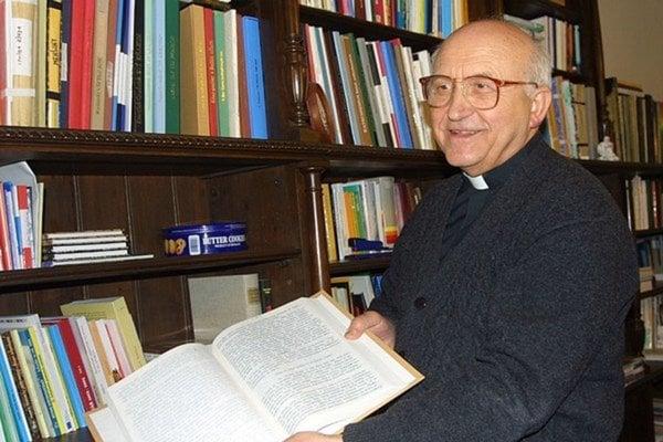 Emeritný arcibiskup Alojz Tkáč.
