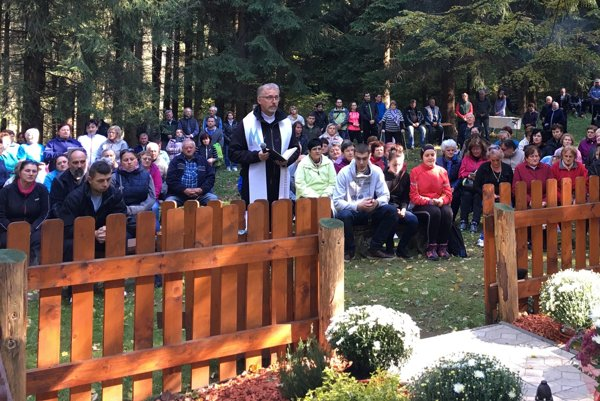 Vnedeľu prispelo svojou modlitbou viac ako 160 pútnikov.