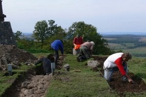 Ďalšia etapa archeologického výskumu na Maginhrade.