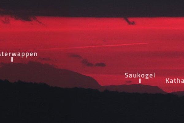 Takéto výhľady na rakúske Alpy odfotografovali autori zo Sitna.