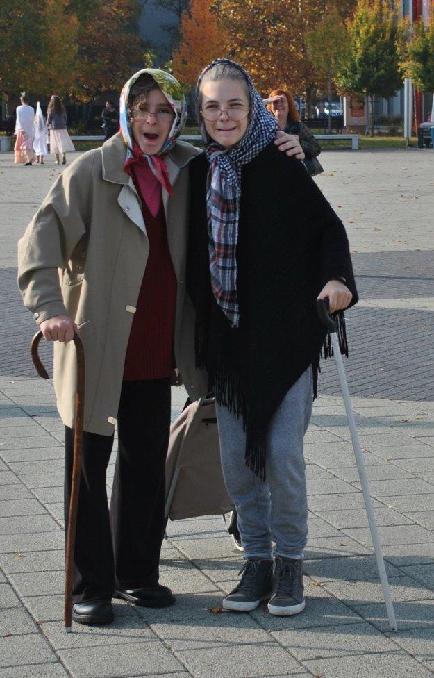 Šantenie v uliciach Lučenca