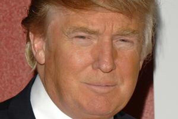 Obchodný magnát Donald Trump.