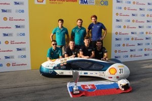 FME Racing Team zvíťazil na Shell Eco-marathone v Turecku.