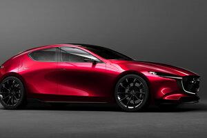 Mazda KAI Concept - Z dizajnu tejto štúdie bude pravdepodobne vychádzať pripravovaná Mazda 3. Dúfajme, že je to pravda.