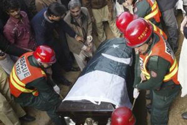 Pohreb Pandžába Salmana Tasíra.
