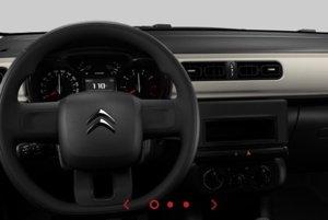 Interiér Citroenu C3 v základnej výbave za 8 990 eur.