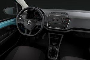 Interiér Volkswagenu Up! v základnej výbave za 8 440 eur.
