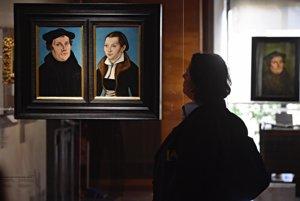 Portrét Luthera s manželkou z galérie Uffizi.