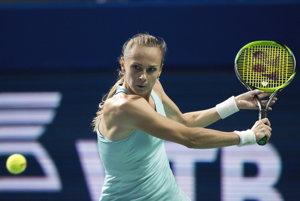 Magdaléna Rybáriková prvý zápas na malých MS prehrala.