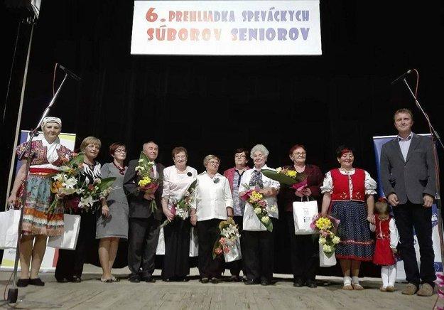 Prehliadka seniorských speváckych zborov