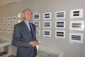 O čipkách rozprával Anton Števko, riaditeľ Ponitrianskeho múzea.