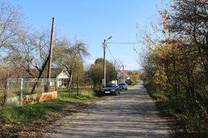 V Kútoch je približne dvadsať domov.