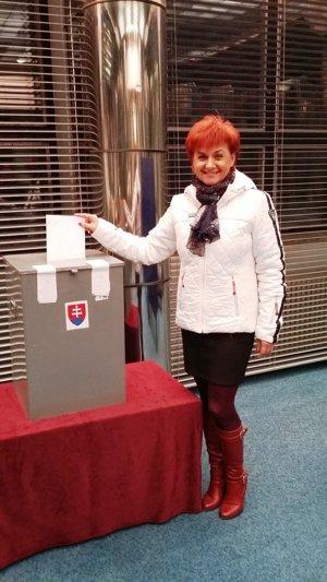 Eva Mrázová.