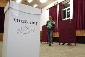 Z volieb v Liesku na Orave.