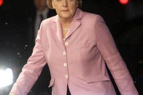 Angela Merkelová nevykročila dobre.