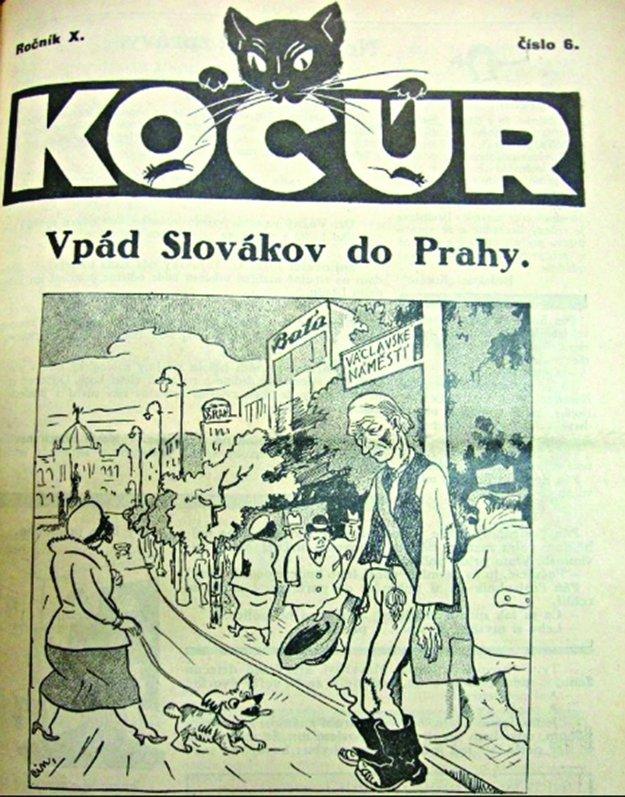 Časopis Kocúr vychádzal práve v tejto vile.
