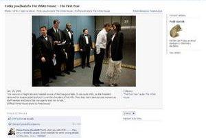 Americký Biely dom má na Facebooku takmer pol milióna členov. Je plný informácií, interaktívnych diskusií a fotografií. Takmer prázdna stránka úradu slovenskej vlády má šesť členov.