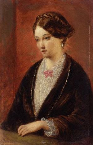Portrét Florence Nigtingalovej od Augusta Egga, 1840
