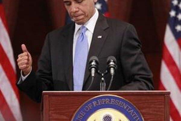 Obamovi prešla reforma zdravotníctva.
