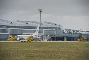 Bratislaavské letisko.