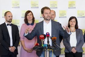 Igor Matovič hodnotí voľby.