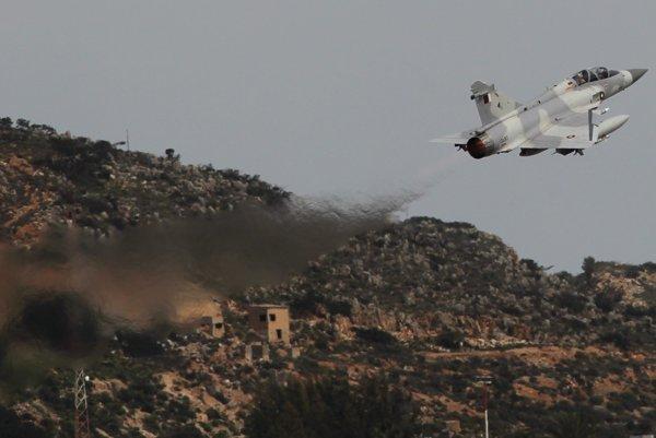 Stíhačka Mirage 2000