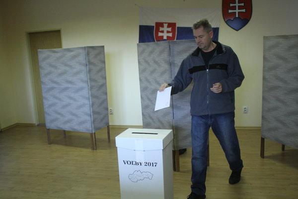 Volebná účasť v obvode Šaľa bola pod celoslovenským priemerom.