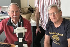 Autori štúdie (zľava) Steve Sweetman, Grant Smith a Dave Martill.