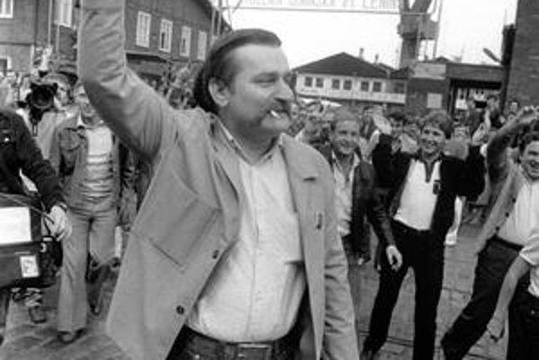 Víťaz Lech Walesa.