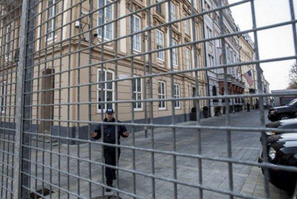 Americká ambasáda v Bratislave.